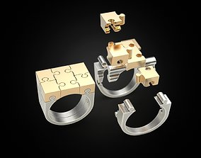 3D printable model Ring puzzle