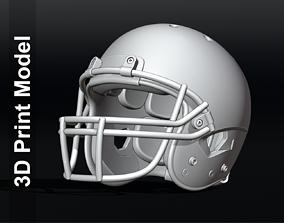 3D print model Contemporary Football Helmet