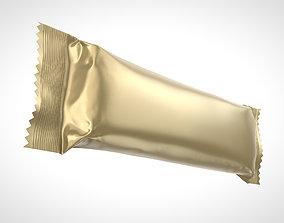 3D model Chocolate Bar 45g Packaging