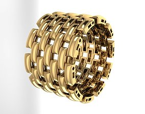 3D printable model Flexible ring