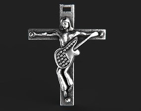 3D printable model cross replica Croix de Johnny 3