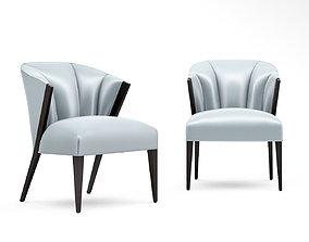 Christopher Guy Modernist dining chair 3D model