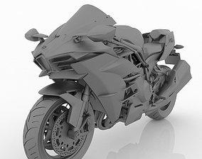 Kawasaki Ninja H2 for Printig
