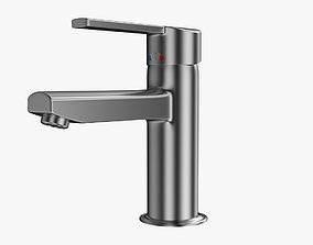 Bathroom Faucet architecture 3D model