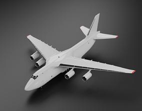 3D asset Antonov An 124-100