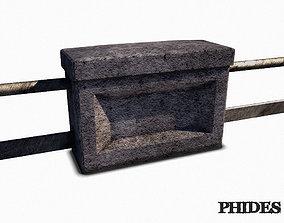 3D model Balustrade 01