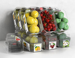 3D model Packed Fruits