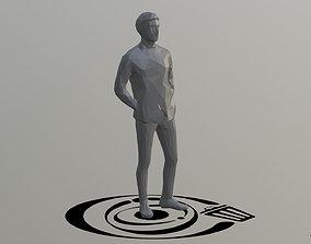 3D asset Human 014 LP R