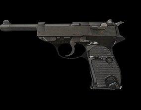 Pistol Wehrmacht P38 3D model