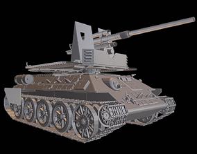 3D print model T34 FlaK 88 Tanks