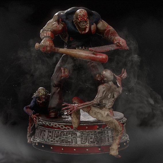 Five Finger Death Punch mascot