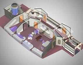 VIP Guest Room for Poser 3D model