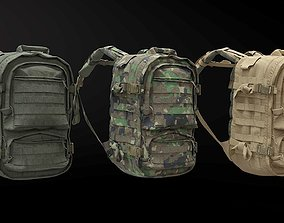 Tactical PEGASUS Backpack 3D