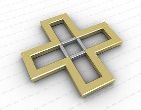 models 3D asset low-poly Cross