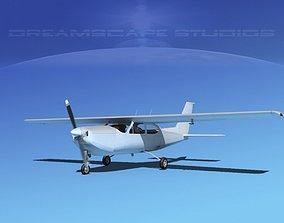Cessna C-177RG Cardinal Bare Metal 3D model
