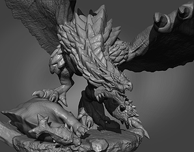 3D print model Rathalos King of the sky
