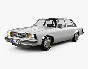 3D model Chevrolet Malibu Classic Sedan 1979