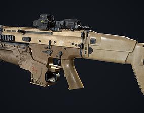 3D asset FN SCAR-L - EGLM