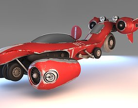 3D Hover speed car