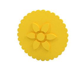 kitchen Cookie stamp - Stamp 3D print model