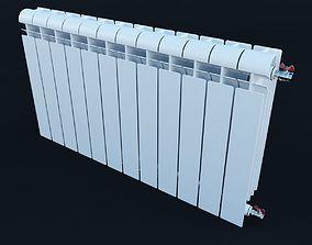 3D Wall-mounted radiator