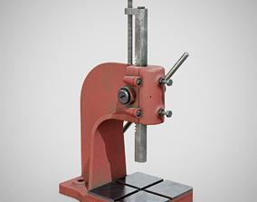 3D model Precision Bench Press - Generic 01 Used