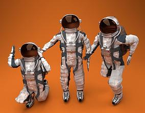 Astronaut rig character 3D
