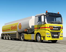 3D MAN TGX XL Fuel Tank