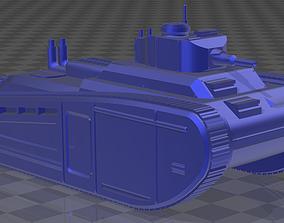 French Heavy tank 3D print model