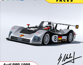 Audi R8R 1999 - Le Mans Gamemodel low-poly