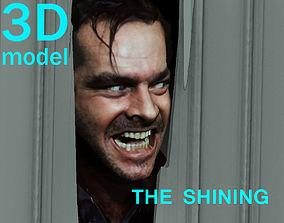 The Shining Jack Nicholson Door Scene 3D print model