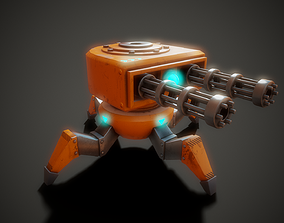 Stylized Robot - Tutorial Included 3D