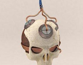 Skull Bomb Variant 4 3D