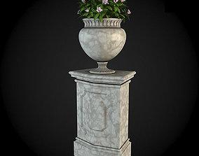 interior 3D model Pedestals