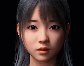 Sue Character and Hair for Genesis 8 3D model