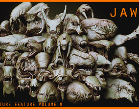 Creature Feature Vol 8 -JAWS2-Another 33 Zbrush 3D model