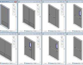 3D model Basic Steel Door