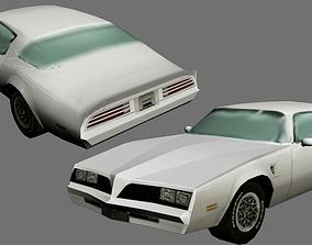 American Car 1 3D asset