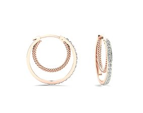 Earrings-3671 3D print model