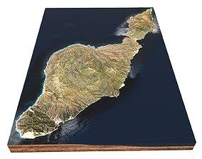 Santa Catalina Island California USA 3D