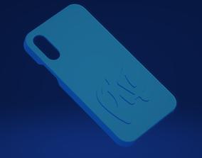 3D print model Iphone X case X PLF crew
