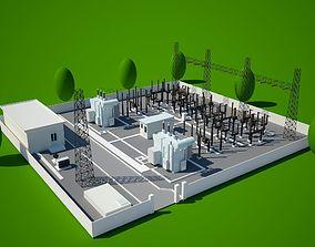 3D model power station