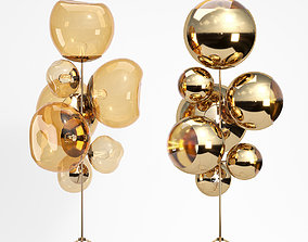 Tom Dixon Ball Stand Chandelier GBall Stand Chandelier 3D