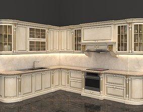 3D model decoration European Style Kitchen