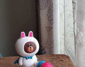 3D printable model bear The Bear