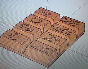 3D printable model Chocolate options