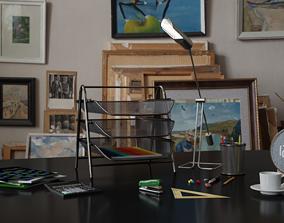 3D model Table accessories asset