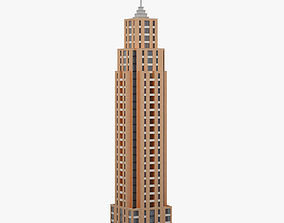 Skyscraper 001 3D model low-poly