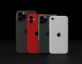 Ultimate Apple iPhone Collection Official 3D model 2