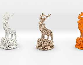Deer Adult Male 3D print model